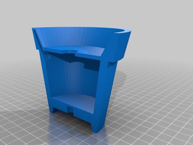 盆栽花盆 3D模型  图3