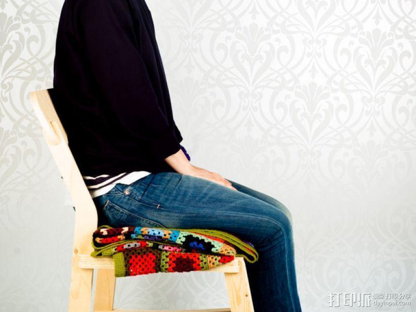 椅子 3D模型  图3