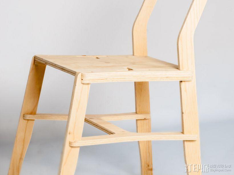 椅子 3D模型  图4