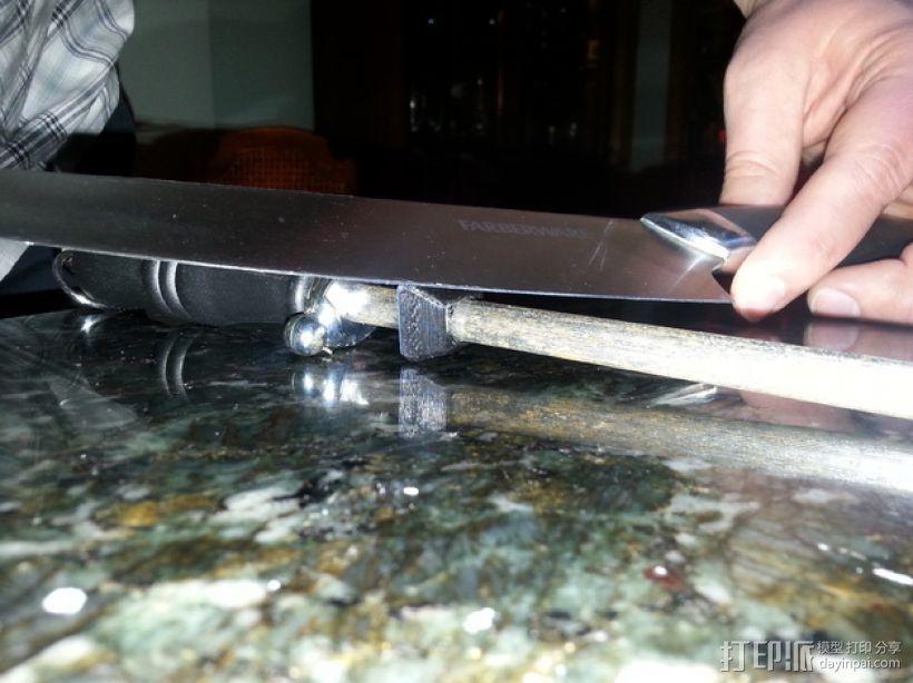 磨刀装置固定夹 3D模型  图4