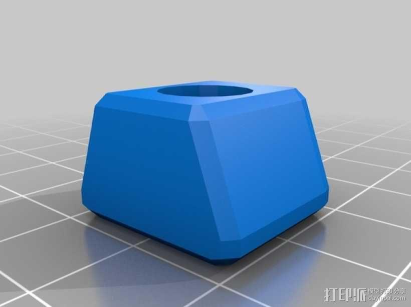 磨刀装置固定夹 3D模型  图3