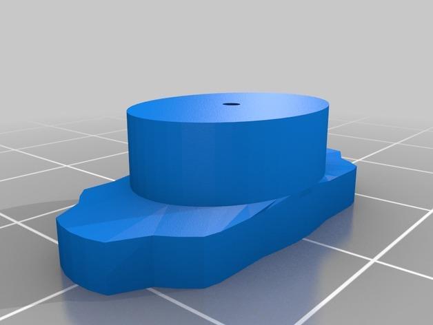 墙壁挂钩 3D模型  图3