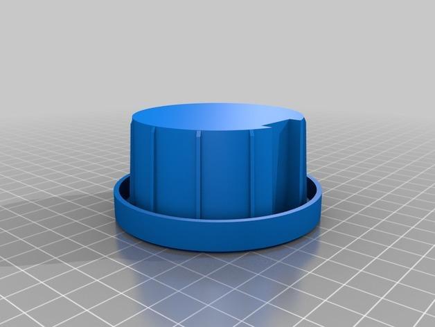 栅栏杆杆帽 3D模型  图10