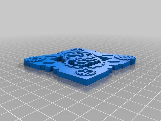 朋克风小托盘 3D模型  图2