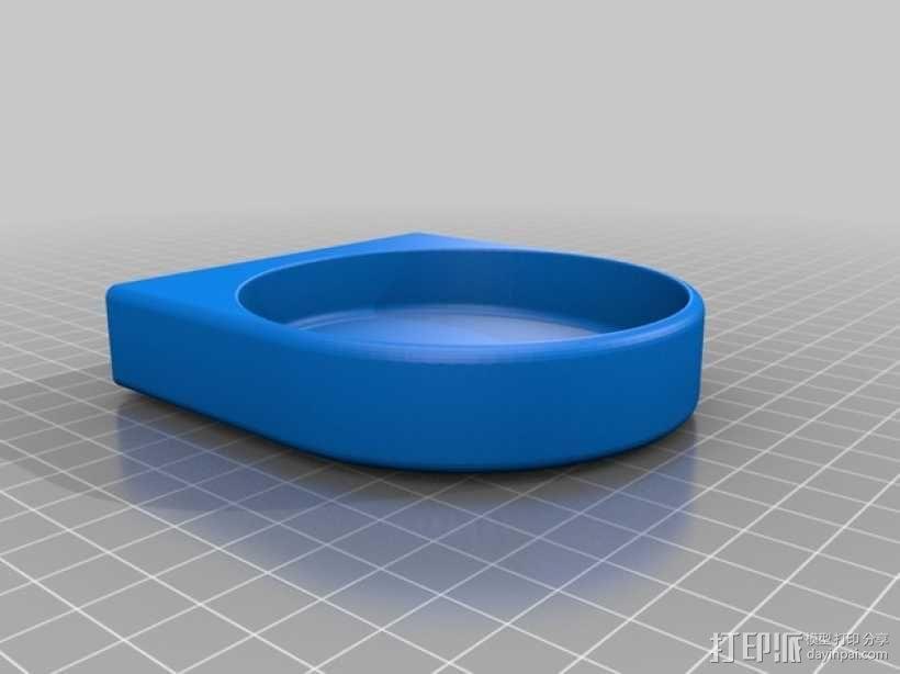 洗手液托盘 3D模型  图2