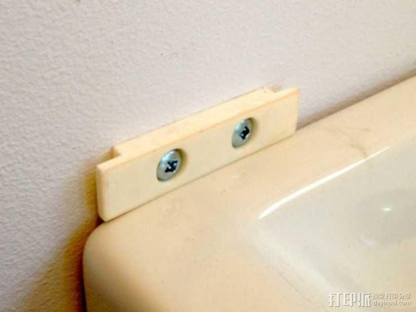 洗手液托盘 3D模型  图4
