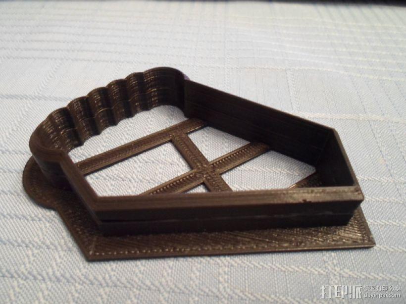 曲奇饼干 模子 3D模型  图3