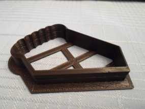 曲奇饼干 模子 3D模型