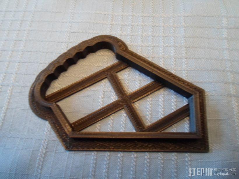 曲奇饼干 模子 3D模型  图4