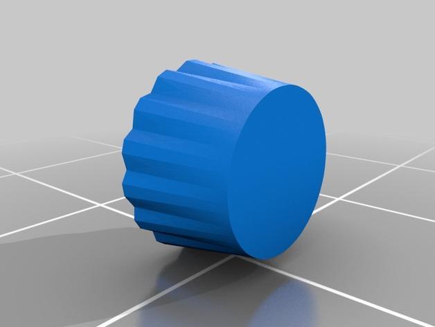 杯形蛋糕制作模具 3D模型  图1