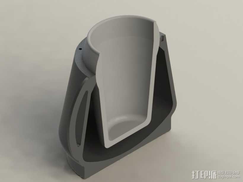 防震杯保护套 3D模型  图1