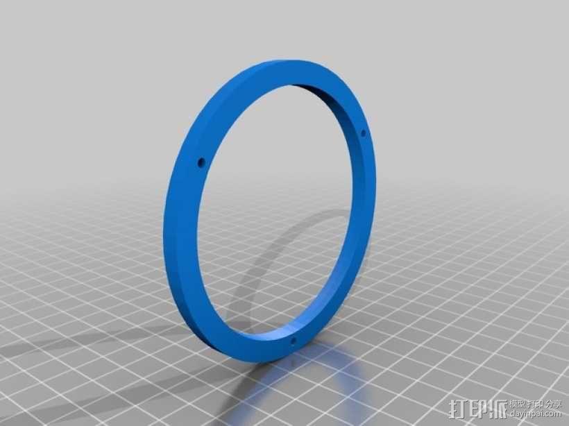 防震杯保护套 3D模型  图6