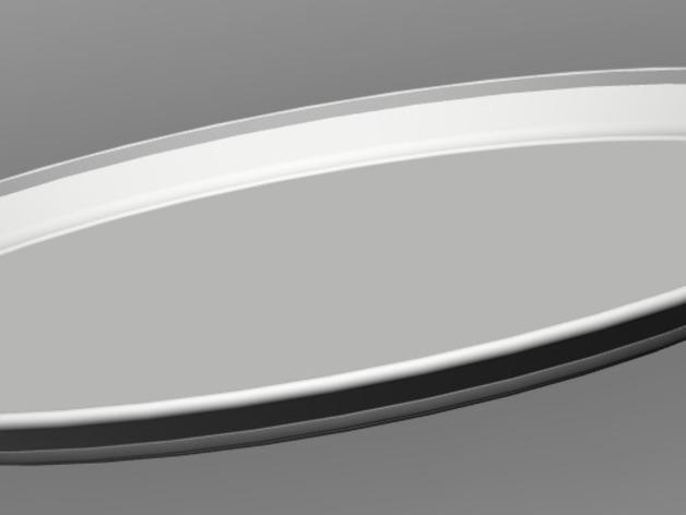 托盘 餐盘 3D模型  图2