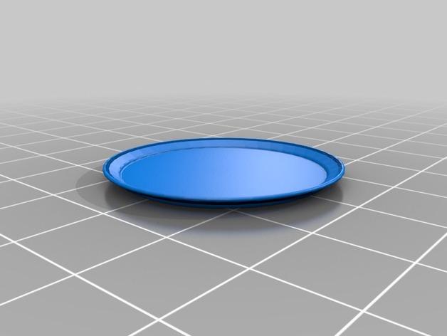 托盘 餐盘 3D模型  图1