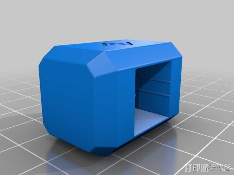 Mjolnir密封盖 3D模型  图1