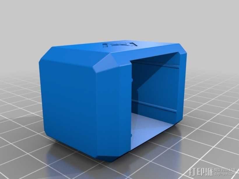Mjolnir密封盖 3D模型  图2