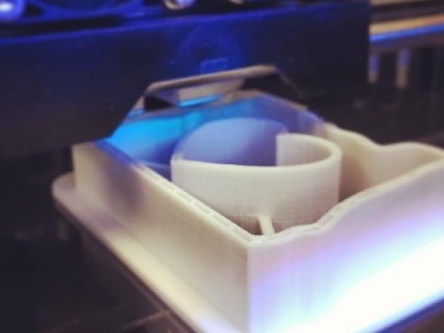 心形饼干制作模具 3D模型  图2