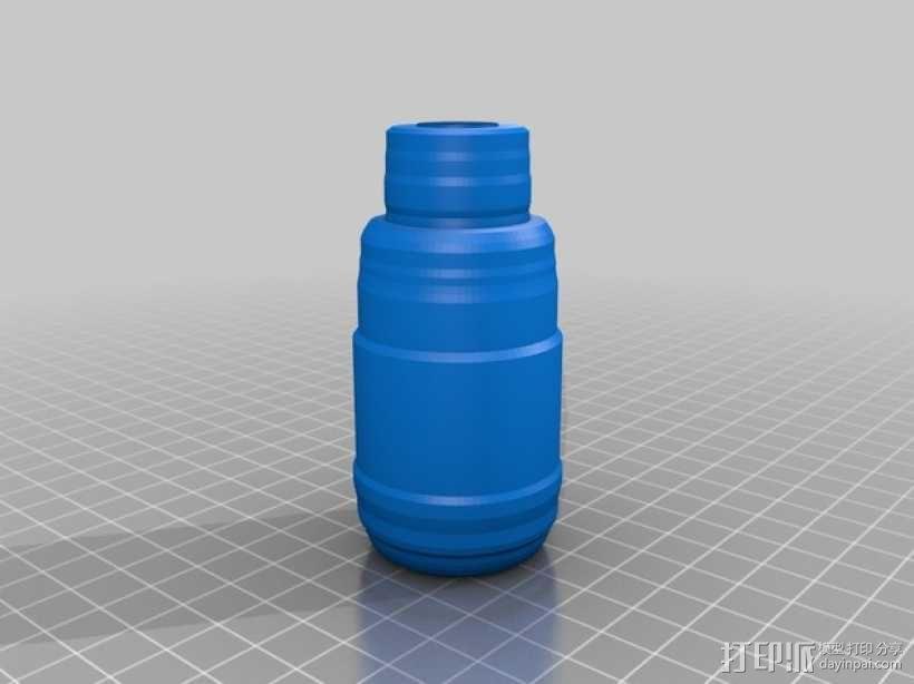 定制化瓶子 3D模型  图1