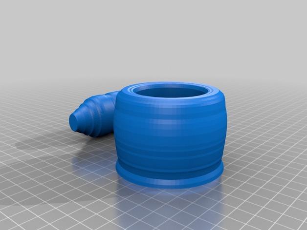 研钵和钵杵 3D模型  图3