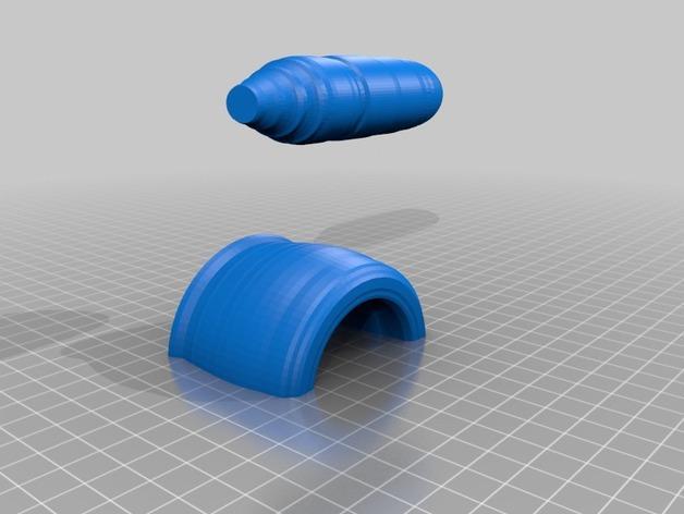 研钵和钵杵 3D模型  图4