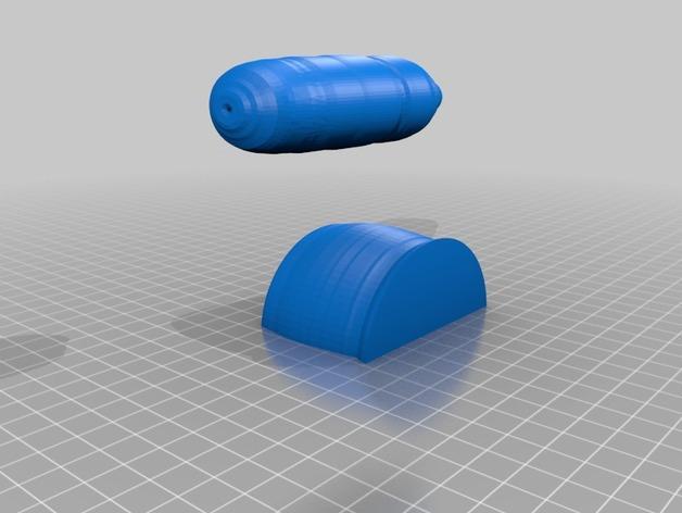 研钵和钵杵 3D模型  图6