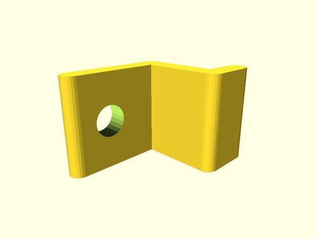 参数化桌面固定器 3D模型  图2