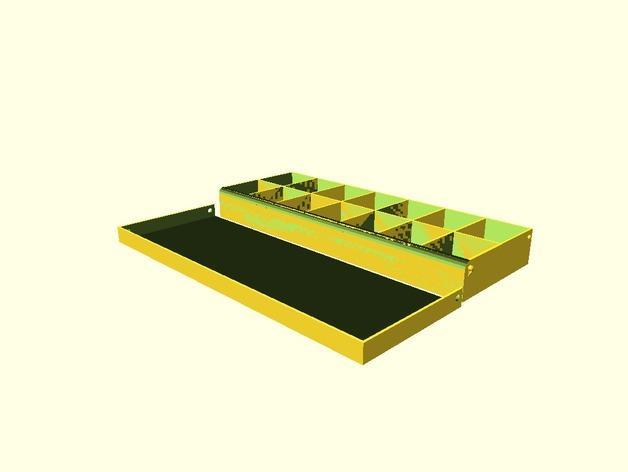 药丸盒 3D模型  图5