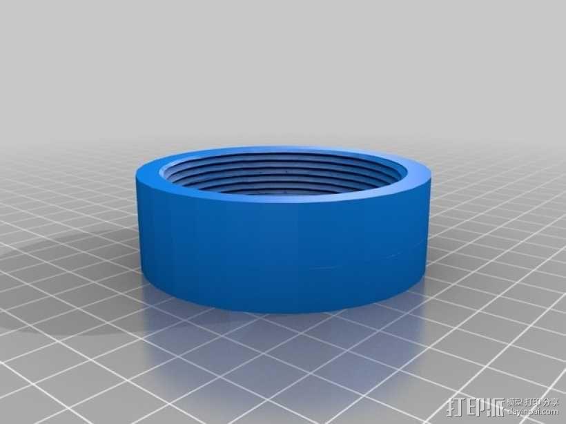 花园喷头和软管 3D模型  图3