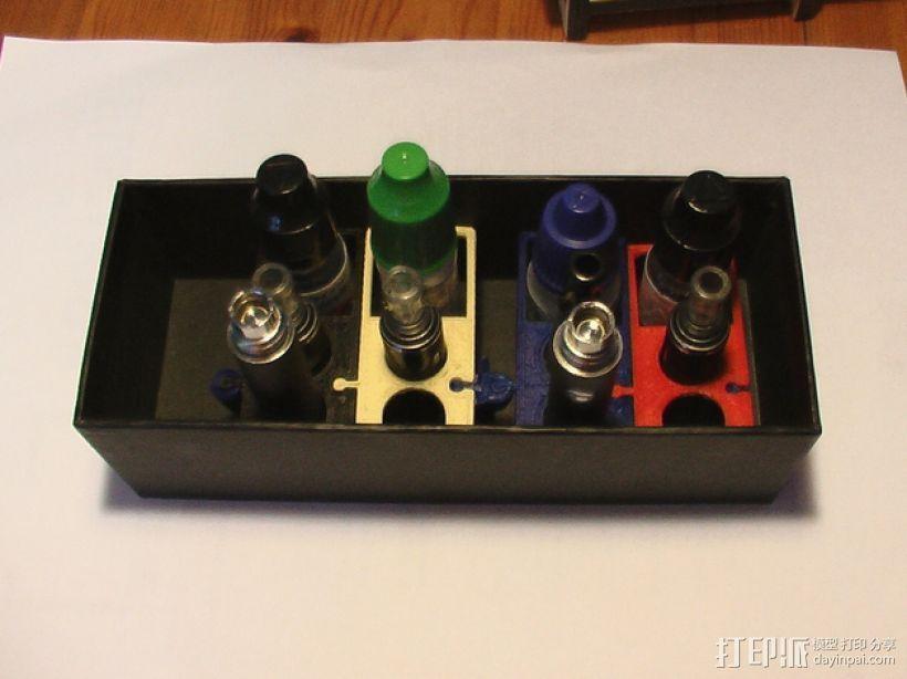 模块化电子烟底盒/底座 3D模型  图2