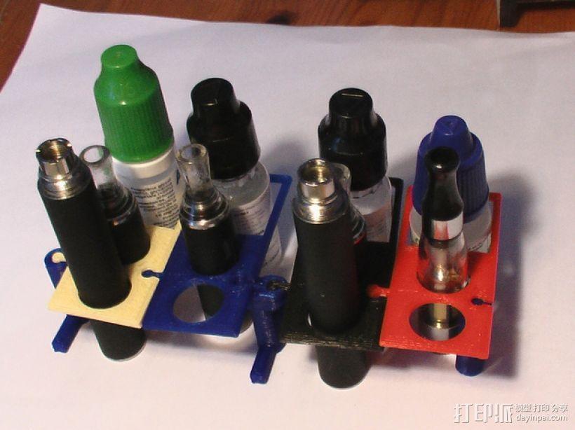 模块化电子烟底盒/底座 3D模型  图1