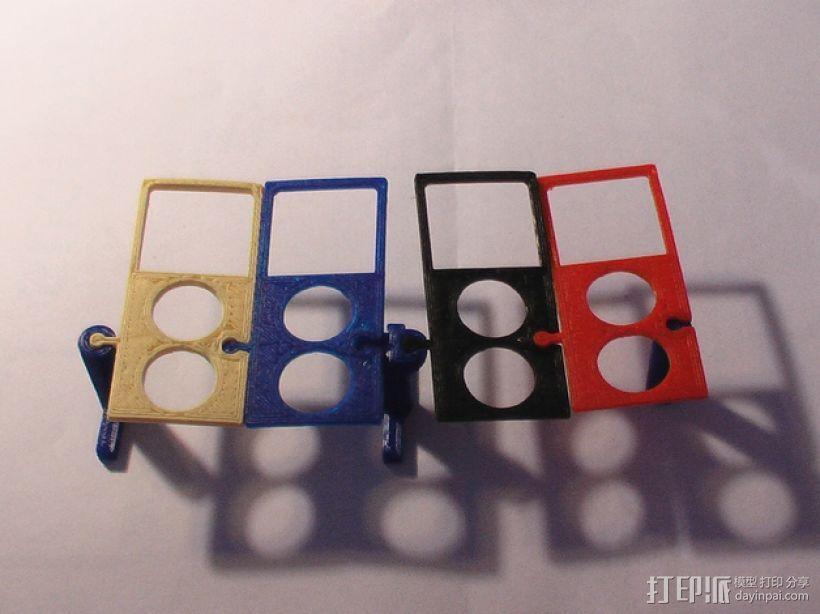 模块化电子烟底盒/底座 3D模型  图3