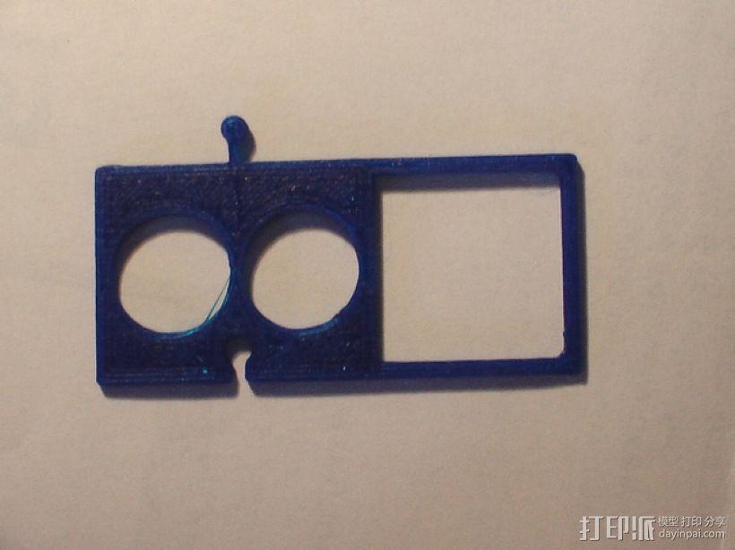 模块化电子烟底盒/底座 3D模型  图7