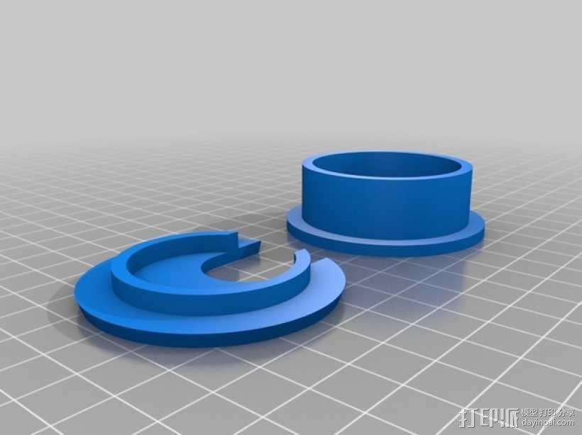 电线接入索环 3D模型  图2