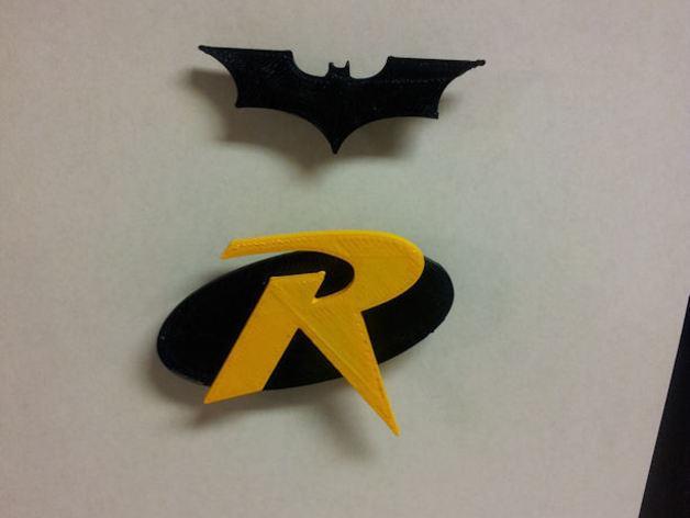 罗宾汉传奇R字 冰箱贴 3D模型  图5
