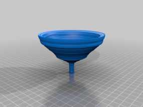 漏斗 3D模型