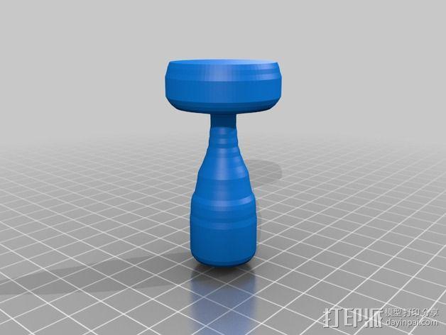咖啡压粉器  3D模型  图1