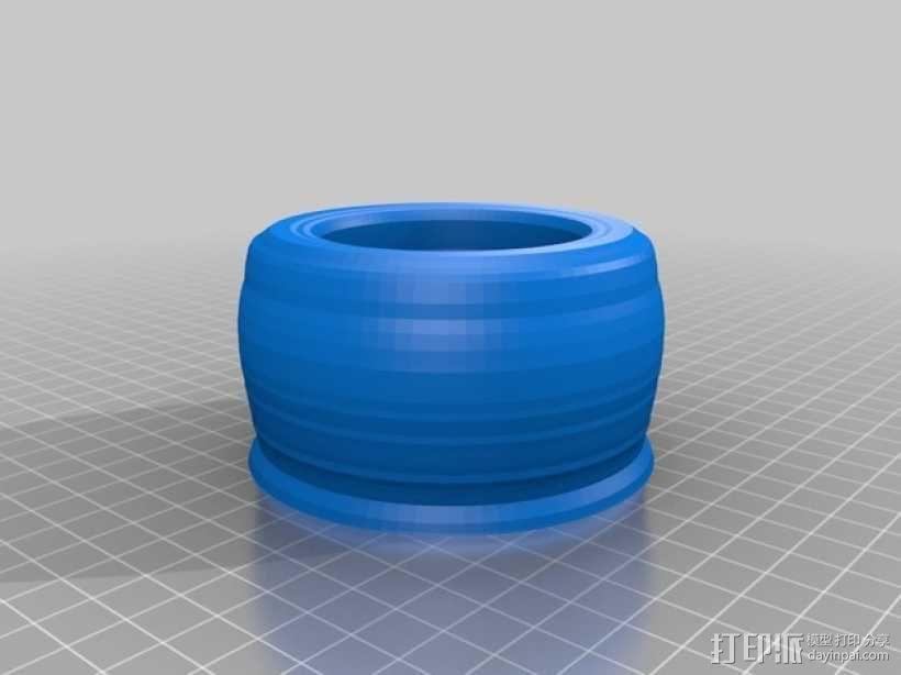 研钵和研杵 3D模型  图1