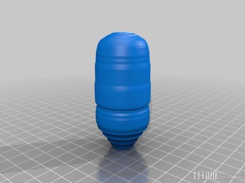 研钵和研杵 3D模型  图2