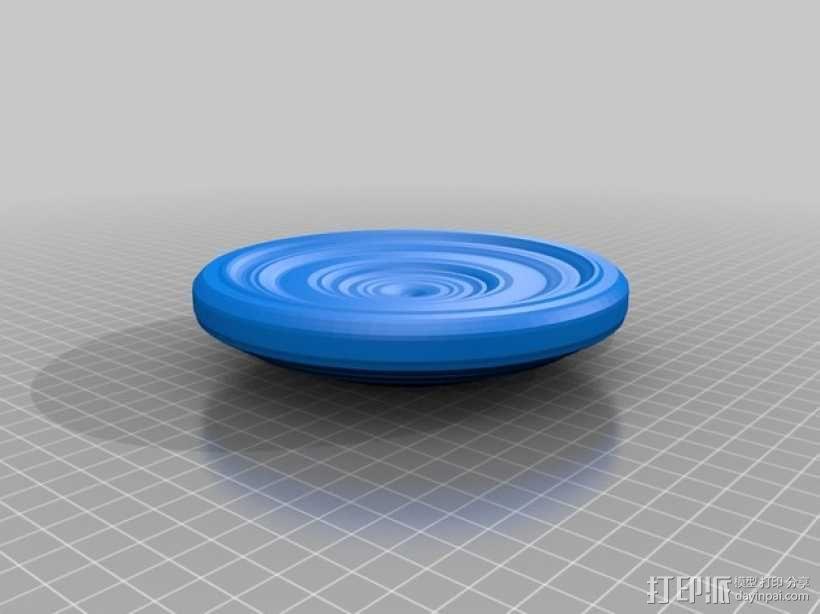 茶托 3D模型  图1