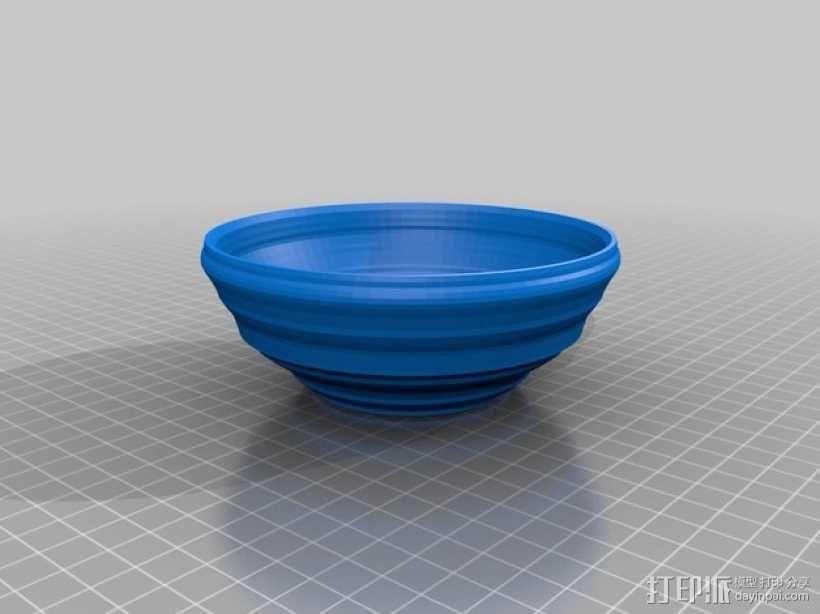 碗1 3D模型  图1