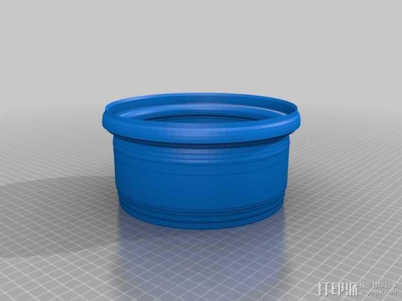 花盆3 3D模型  图1