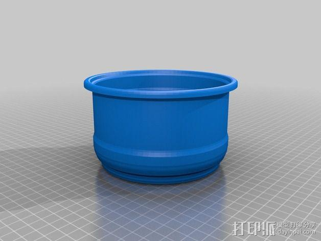 花盆1 3D模型  图1