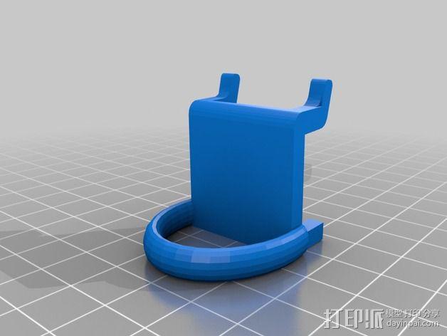 钉板固定夹 3D模型  图2