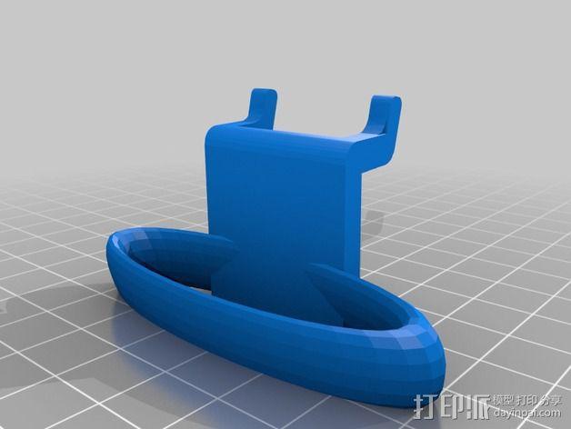钉板固定夹 3D模型  图3
