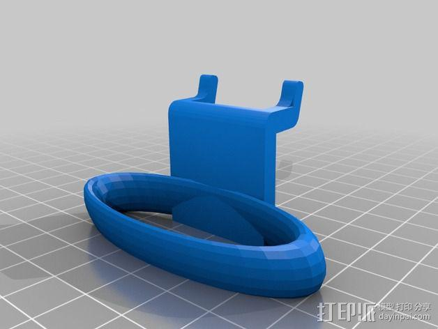 钉板固定夹 3D模型  图4