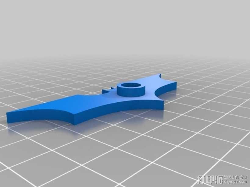 电影《黑暗骑士》冰箱贴 3D模型  图2