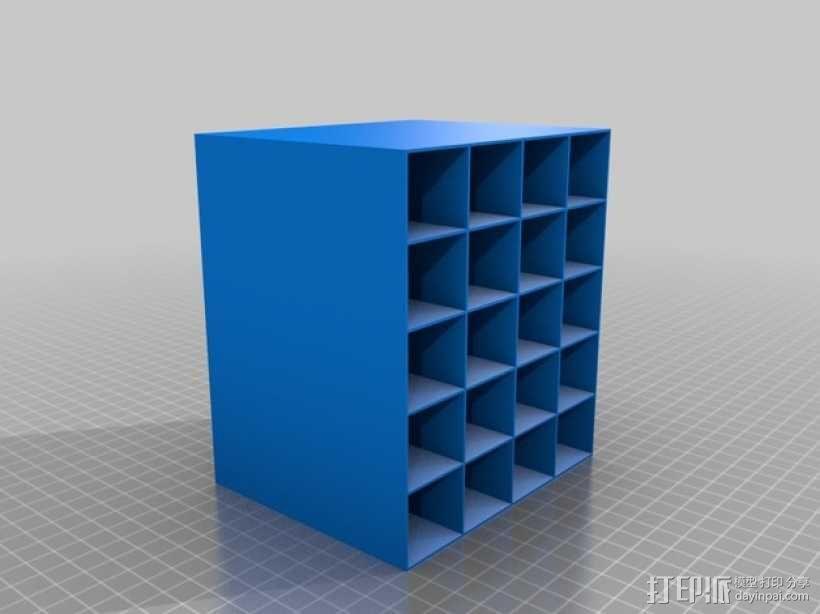 定制化迷你置物架  3D模型  图1