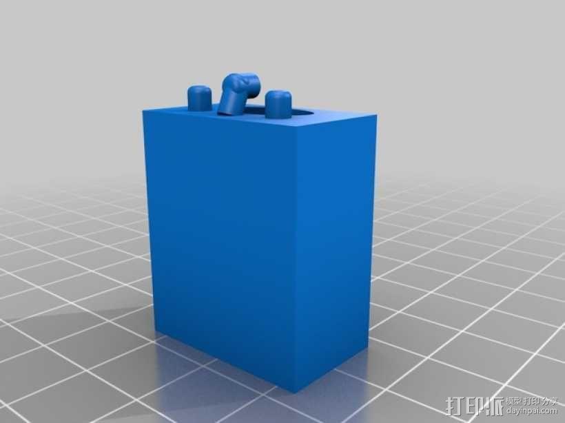 迷你洗涤槽 3D模型  图1