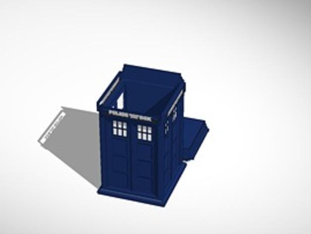 塔迪斯饼干罐 3D模型  图2