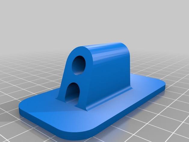雪佛兰轿车后备箱铰链零部件 3D模型  图3